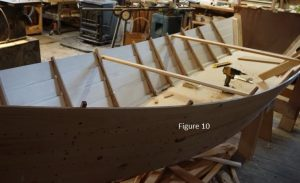 Yankee Tender framing process, Weeping Willow Woodworks in Cummaquid, MA